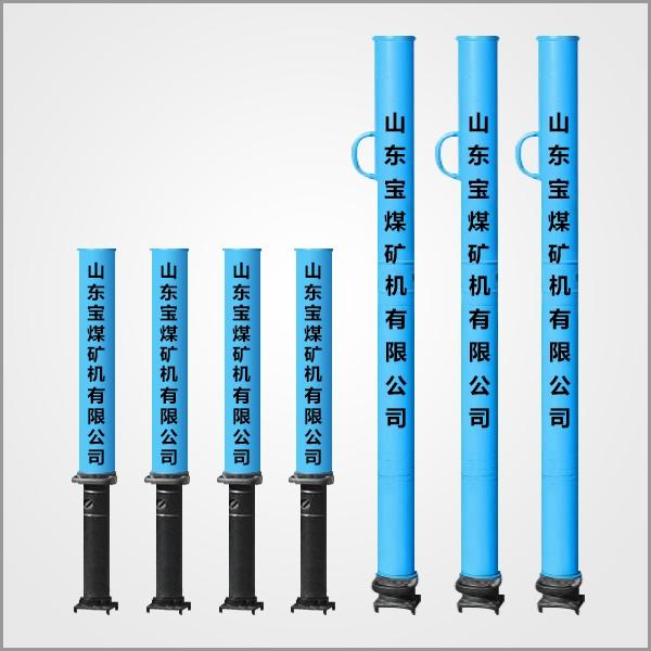 黑龙江DW25/100型与DW28/100型外注式单体液压支柱
